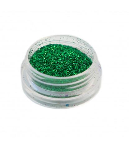 Блестки 3 гр+ баночка зеленые