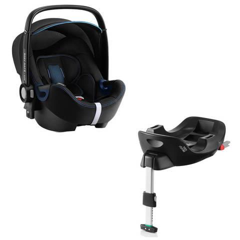 Автокресло Britax Roemer Baby-Safe2 i-Size Cool Flow Blue + Base Flex Isofix