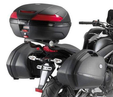 Боковой крепеж Kappa для мотоцикла Kawasaki ER-6N ER-6F (с 2009 г.)