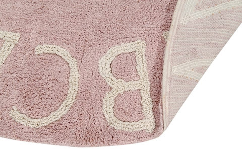 Ковер Lorena Canals Alphabet Round ABC Pink (150D)