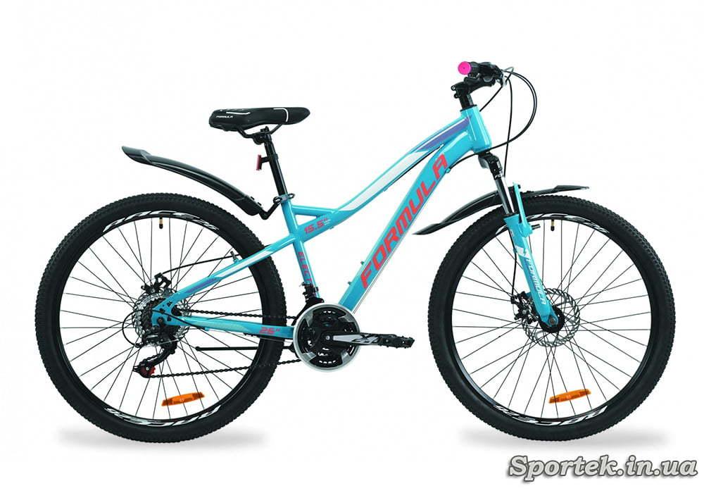 Горный женский велосипед Formula Electra AM DD - бирюзовый