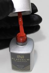 Купить ярко-красный гель-лак для ногтей отзывы PLATINUM