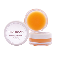 Бальзам для губ с Манго, TROPICANA OIL,  Natural Coconut Lip Balm, 10 мл