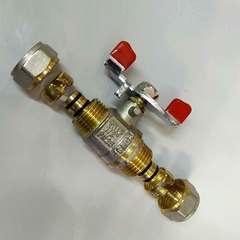 кран для металлопластиковых труб 16