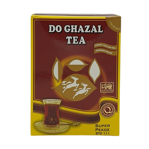 Цейлонский черный чай Pekoe DO GHAZAL TEA, 200 гр