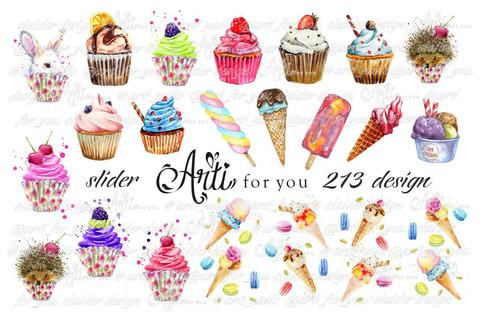 Слайдер наклейки Arti for you 213 купить за 100руб