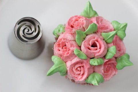 Насадка для кондитерского мешка «Роза»
