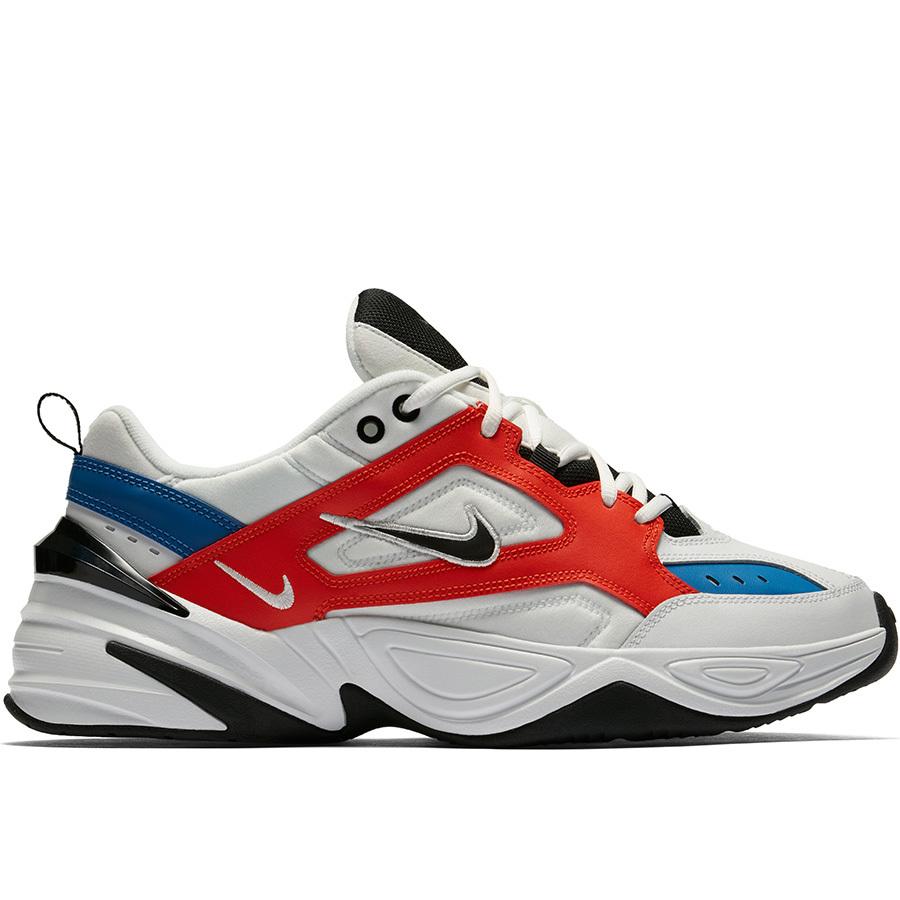 Nike M2K Tekno White/Red/Blue
