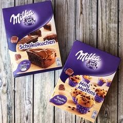 Milka Mini Muffins Милка смесь для приготовления мини-кексов 270 гр