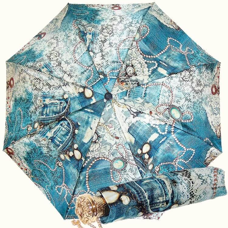 Зонт складной Pasotti C-261S-5R316 Cammeo indaco