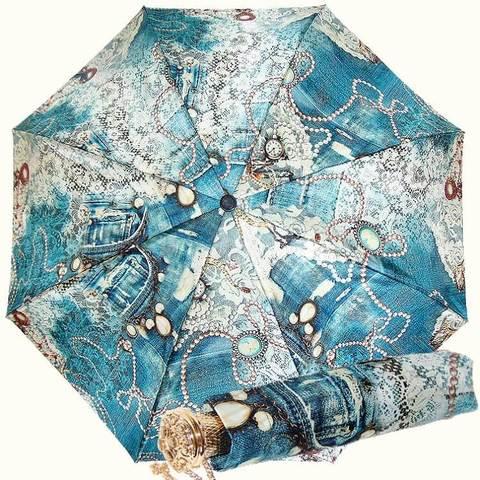 Роскошный зонтик автомат, винтажный стиль