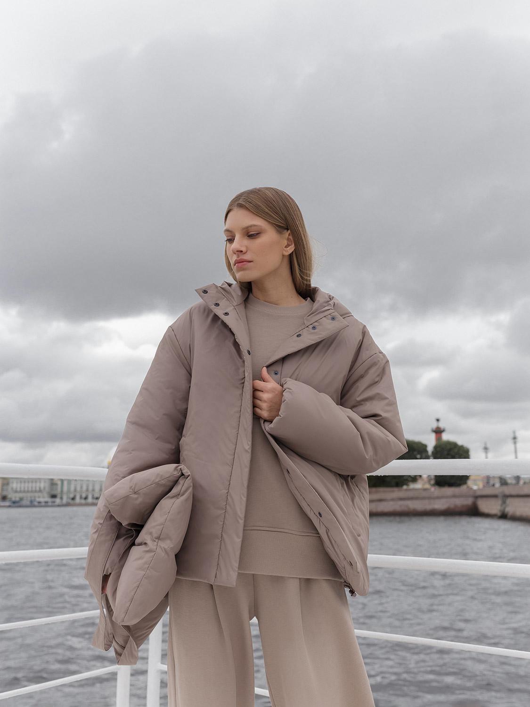 Куртка Париж с резинкой по низу