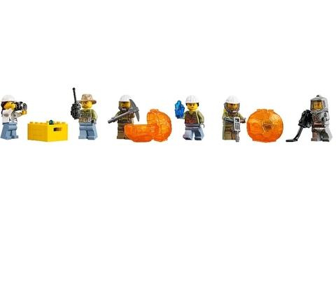 LEGO City: Тяжёлый транспортный вертолёт Вулкан 60125 — Volcano Heavy-Lift Helicopter — Лего Сити Город