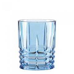 Синий хрустальный стакан для виски Highland, 345 мл, фото 2