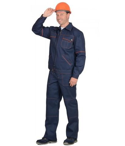 Костюм мужской куртка, брюки 100% хлопок