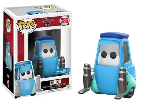 Фигурка Funko Pop! Disney: Cars 3 - Guido (Excl. to Walmart)