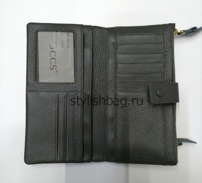 Женский кошелек JCCS j-31068 grey