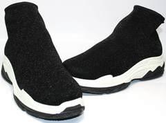 Гламурные кроссовки Seastar LA33 Black