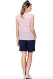 Рубашка для беременных 01329 розовый