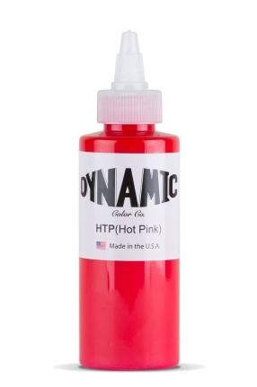 """Краска Dynamic Colors """"Hot Pink - Ярко-Розовый"""" 1 унция - 30 мл"""