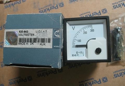 Вольтметр / METER VOLT 0-300V D48  CSA/UL АРТ: 620-843