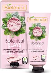 BOTANICAL CLAYS веганский крем с розовой глиной день/ночь 50 мл