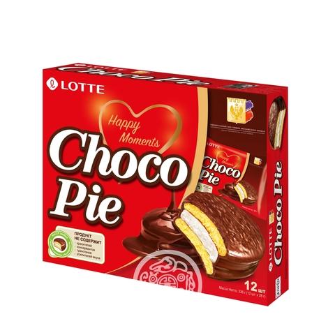 Печенье Choco Pie 336г Lotte Россия