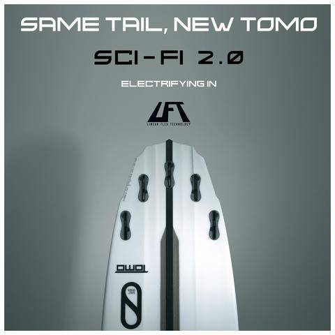 SLATER DESIGNS Sci-Fi 2.0 LFT 6'3