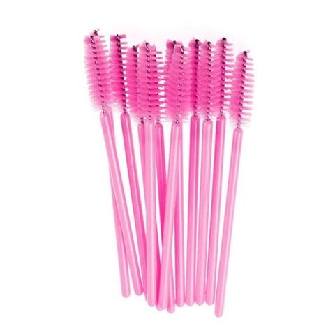 Щеточка для ресниц розовая (1уп - 50шт)