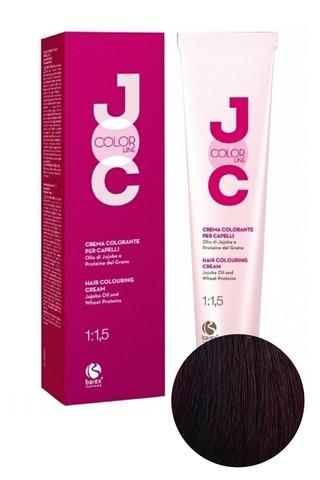 Крем-краска для волос 5.56 светло-каштановый махагоново-красный JOC COLOR, Barex