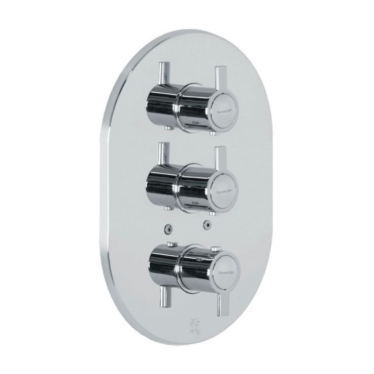 Встраиваемый термостатический смеситель для душа DRAKO 3327S на 3 выхода