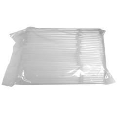 Трубочки для коктейлей Мистерия гофрированные прозрачные длина 21 см 250 штук в упаковке