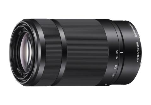 Объектив SEL-55210B черный для APS-C камер Alpha купить в Sony Centre