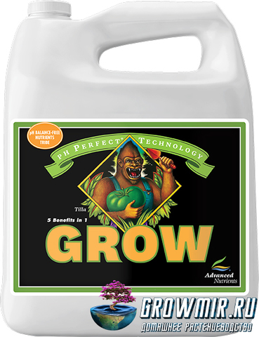 Advanced Nutrients pH Perfect Grow 5л (4л)