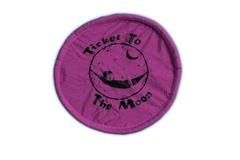 Складной фризби Ticket to the Moon Pink