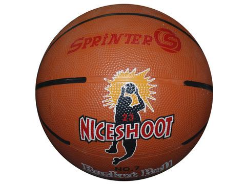 Мяч баскетбольный. Размер 7 . Материал: резина. 04098