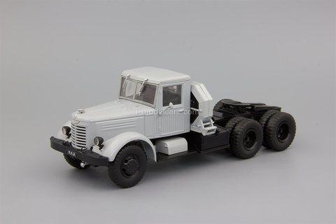 YaAZ-210D truck tractor gray 1:43 DeAgostini Auto Legends USSR Trucks #50
