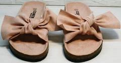 Модные женские босоножки шлепки birkenstock Comer SAR-15 Pink.