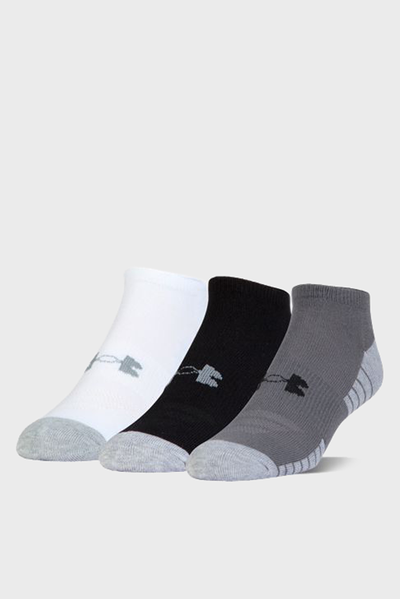 Мужские носки (3 пары) UA HEATGEAR TECH NOSHOW Under Armour