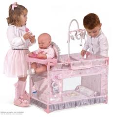 DeCuevas Манеж-игровой центр для куклы с аксессуарами серии Мария, 59 см (53134)