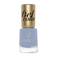 LGC-052 лак для ногтей GEL COLOR тон 052 голубой 12мл