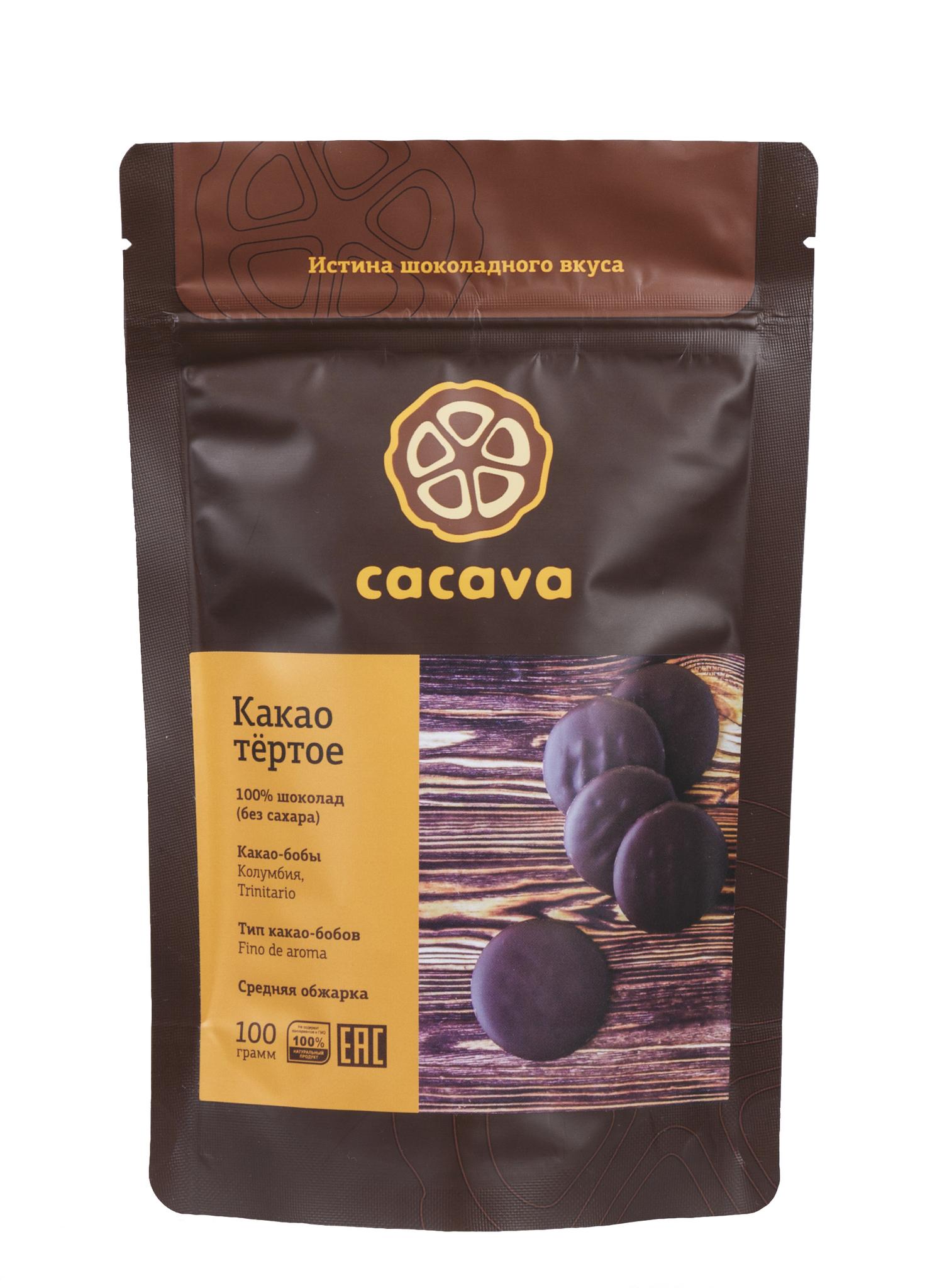 Какао тёртое (Колумбия), упаковка 100 грамм