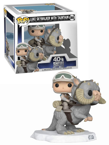 Фигурка Funko POP! Bobble: Deluxe: Star Wars: Luke on Taun Taun 46764