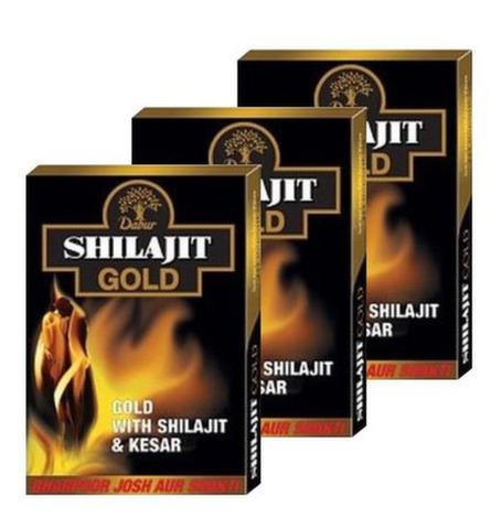 Шиладжит Голд Дабур (Shilajit Gold Dabur) , 10 капс.