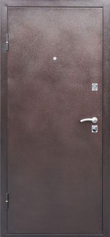 Дверь входная Стройгост 9 см. мет/мет. стальная, медь антик, 2 замка, фабрика СтройГост(Китай)