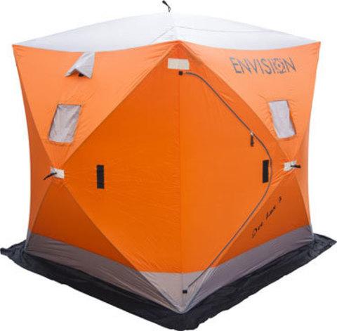 Зимняя палатка КУБ для рыбалки Ice Lux 3