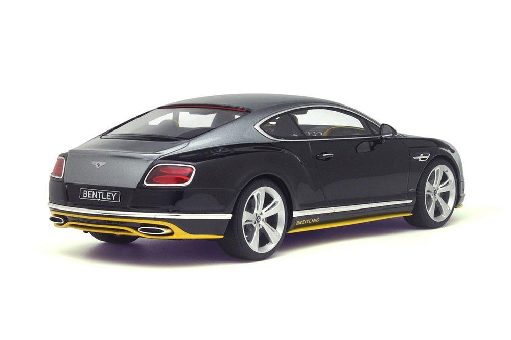 Коллекционная модель Bentley Continental GT Speed Breitling Jet Team 2016 Black