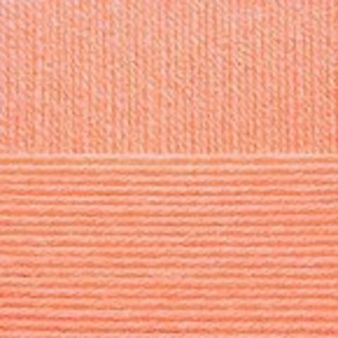 Купить Пряжа Пехорка Детская новинка Код цвета 018-Персик | Интернет-магазин пряжи «Пряха»