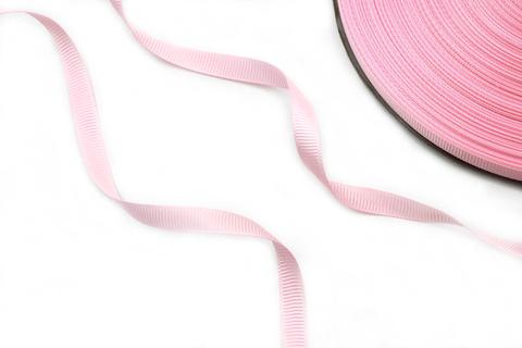 Лента репс. нежно-розовая,1 см