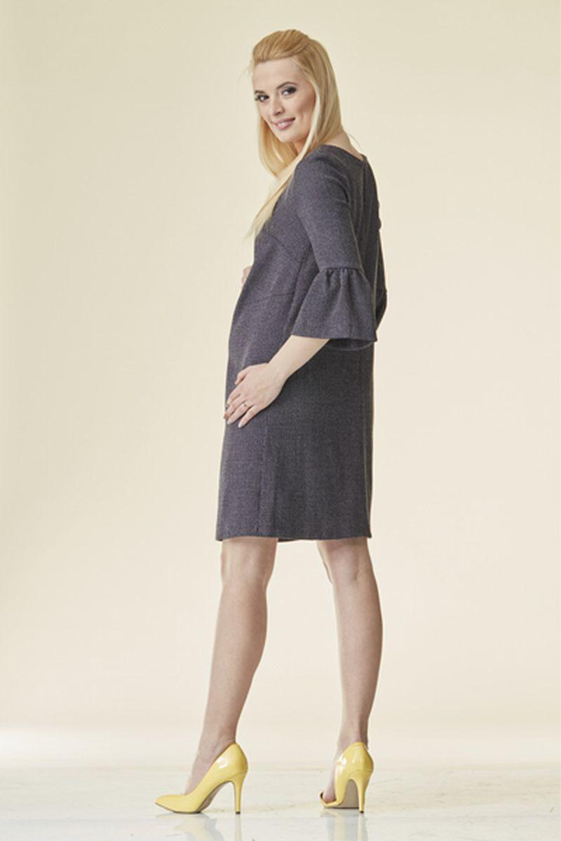 Фото платье для беременных Mama i Ja, классическое от магазина СкороМама, черный, размеры.